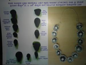 12 ವಿವಿಧ ಶಕ್ತಕೇಂದ್ರ ಹೊಂದಿರುವ ಸಾಲಿಗ್ರಾಮ ಕಂಠಾಭರಣ