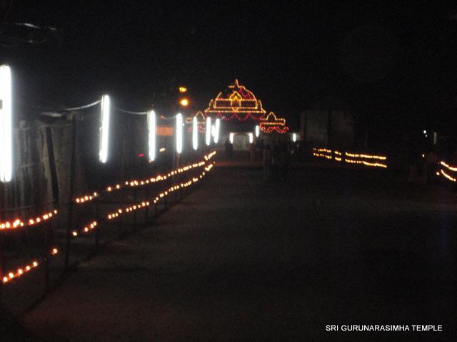 ದೀಪೋತ್ಸವದ ವಿಹಂಗಮ ನೋಟ